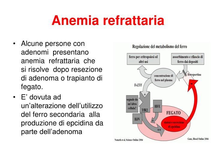 Anemia refrattaria