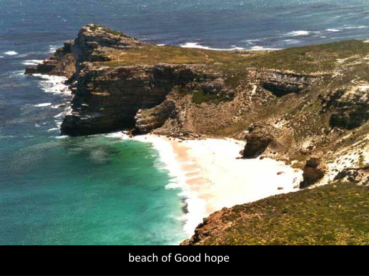 beach of Good hope
