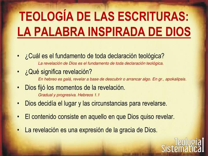 Teologia biblica y sistematica myer pearlman