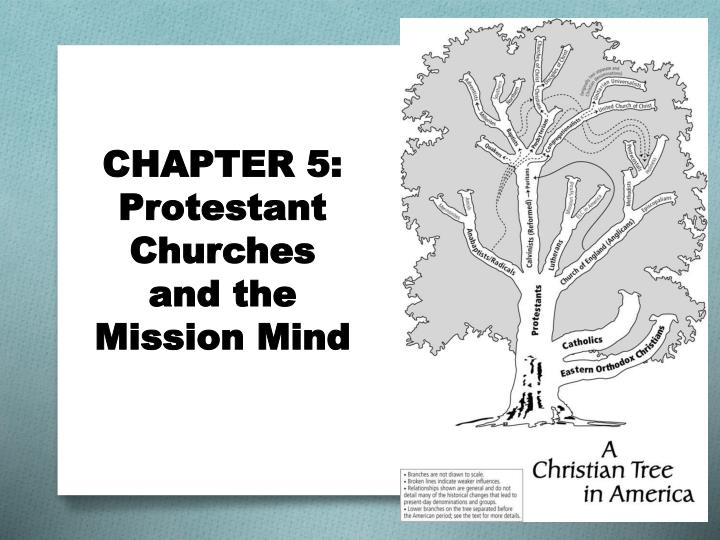 Chapter 5 protestant churches and the mission mind