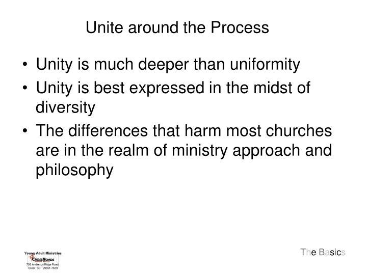 Unite around the Process