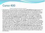 curso 4001