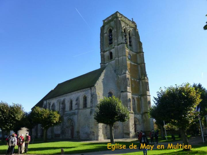 Eglise de May en Multien.