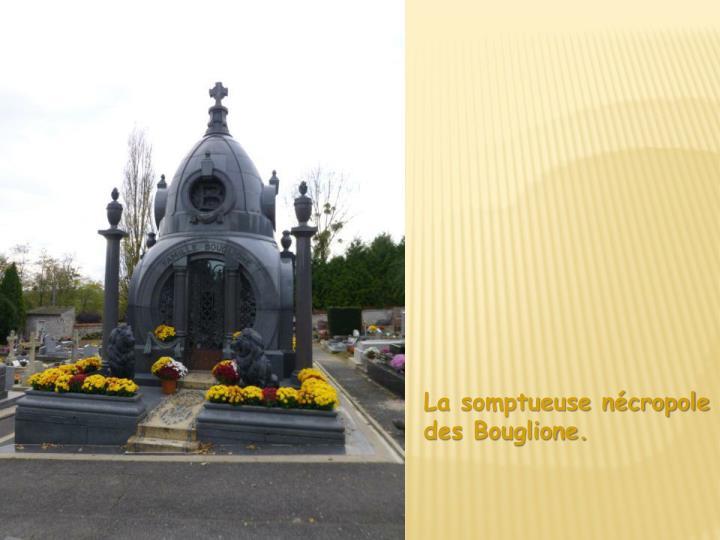 La somptueuse nécropole des Bouglione.