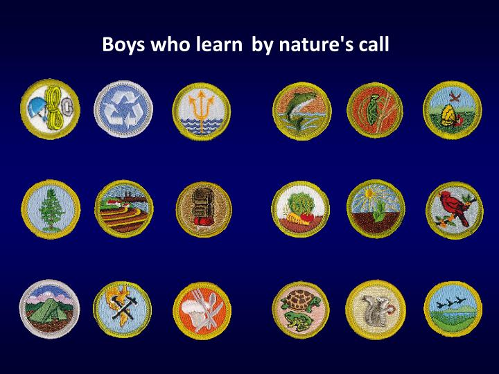 Boys who learn