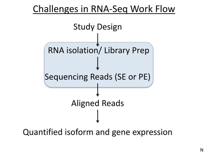 Challenges in RNA-