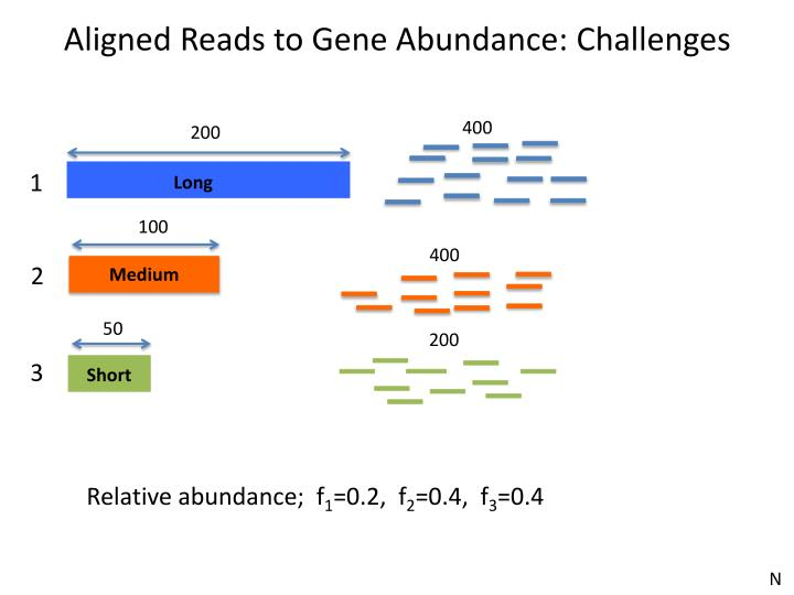 Aligned Reads to Gene Abundance: Challenges