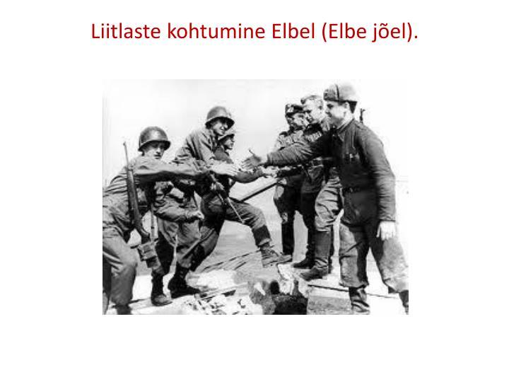 Liitlaste kohtumine Elbel (Elbe jõel).