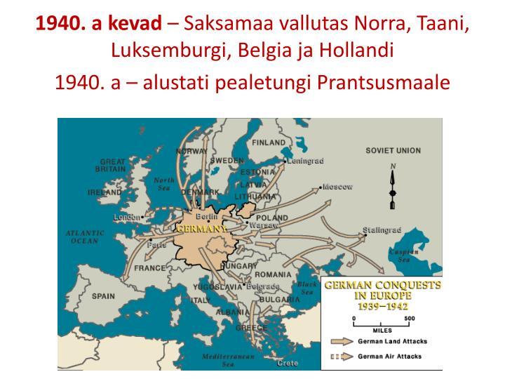 1940. a kevad