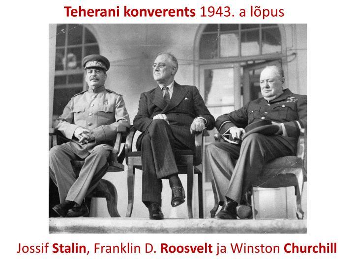 Teherani konverents