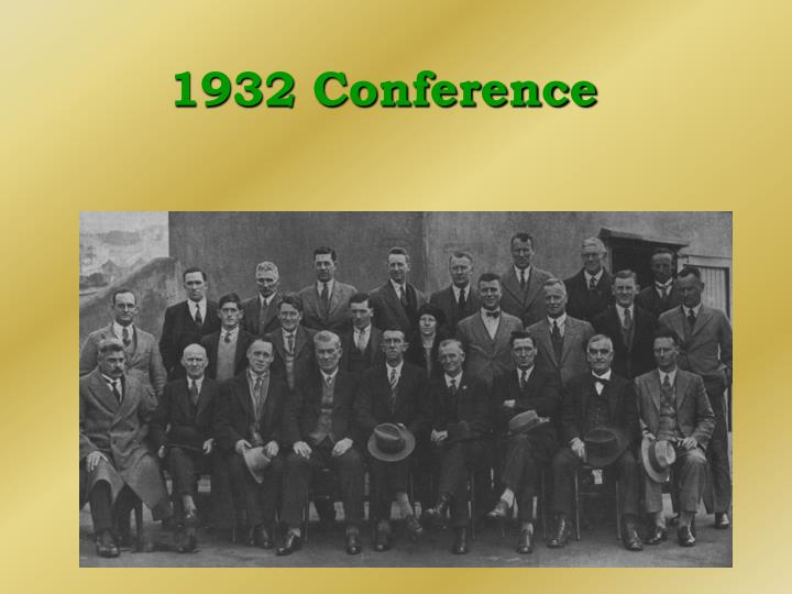 1932 Conference