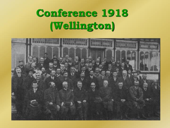 Conference 1918 (Wellington)