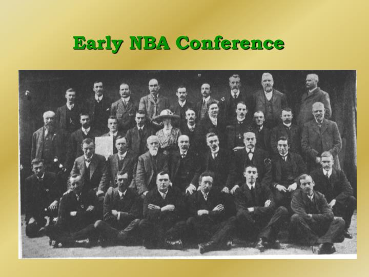 Early NBA Conference
