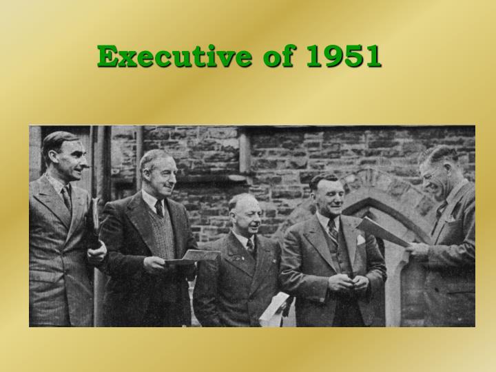 Executive of 1951