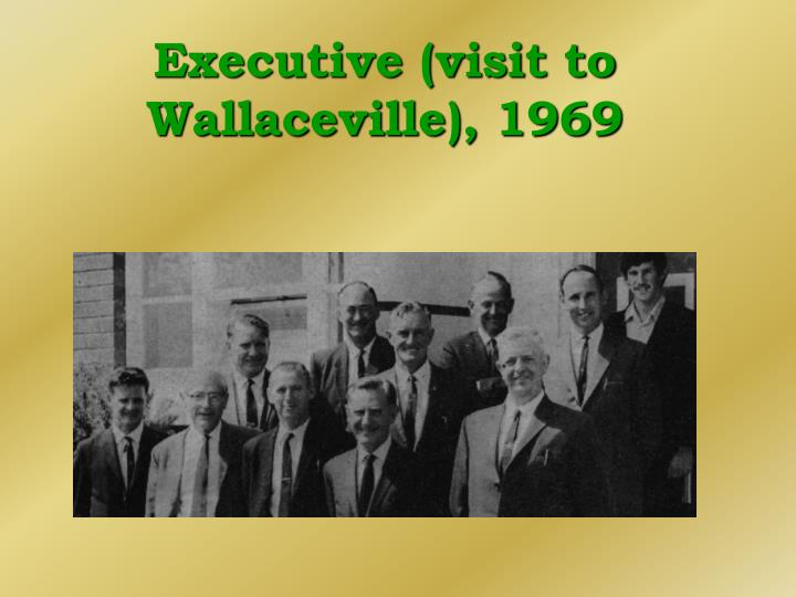 Executive (visit to Wallaceville), 1969