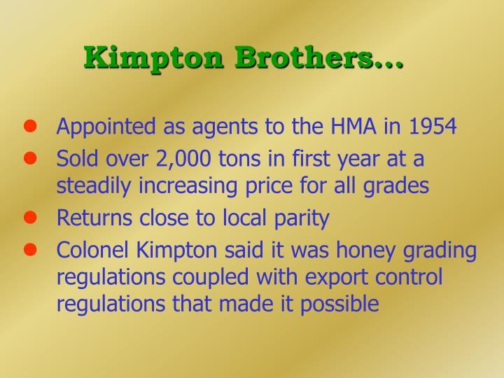 Kimpton Brothers...