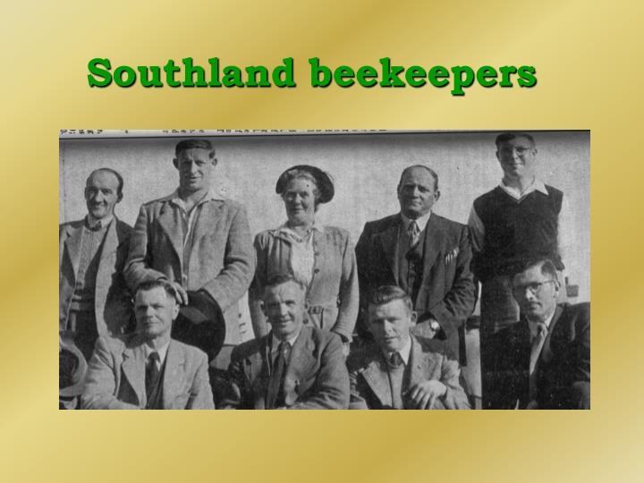 Southland beekeepers