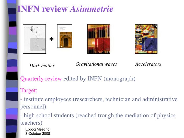 INFN review