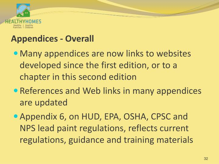 Appendices - Overall
