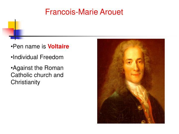 Francois-Marie Arouet