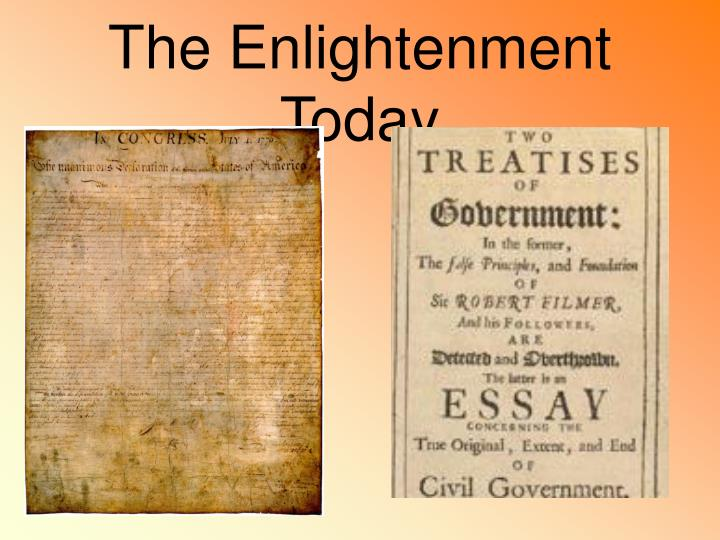 The Enlightenment Today