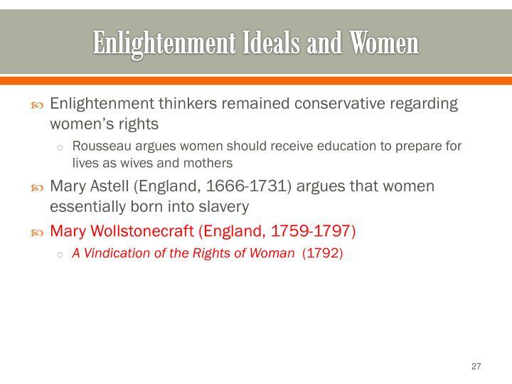 enlightenment ideals