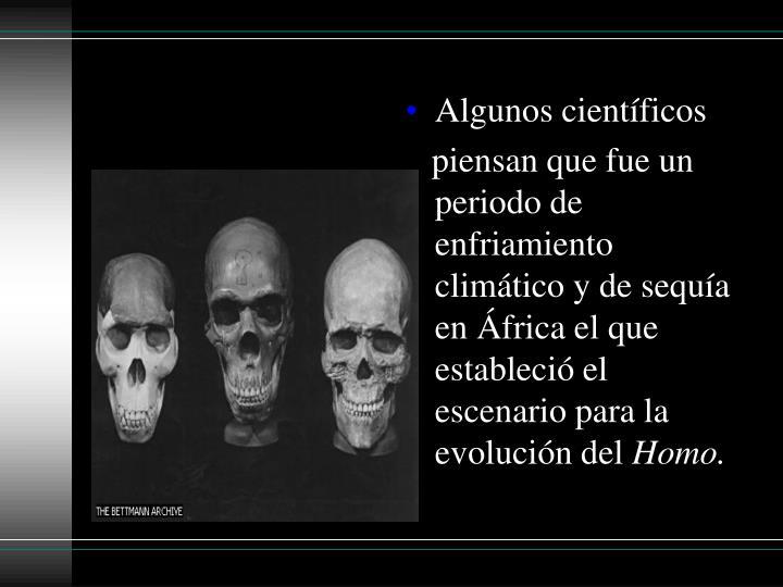 Algunoscientíficos