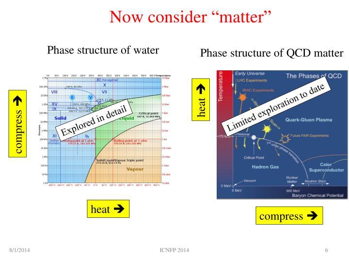 """Now consider """"matter"""""""