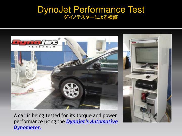 DynoJet Performance Test