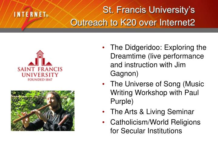 St. Francis University's