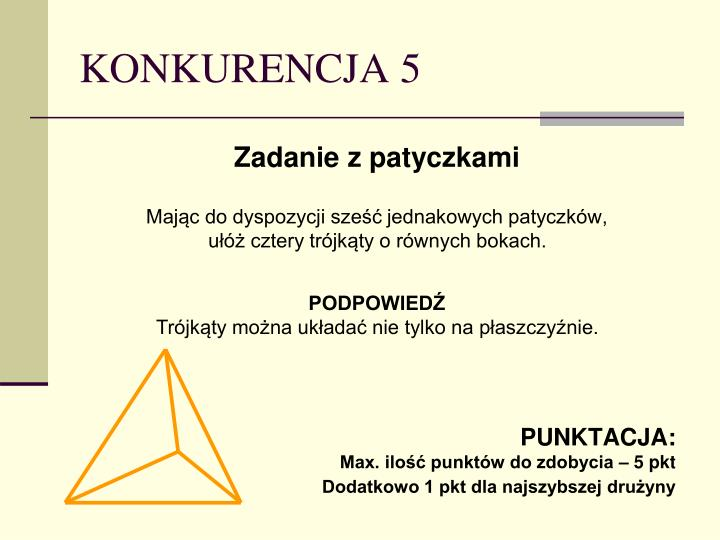 KONKURENCJA 5