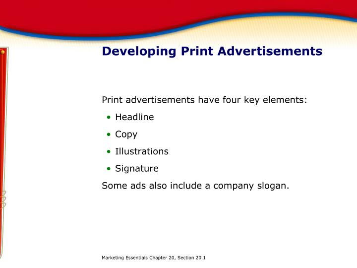 Developing Print Advertisements