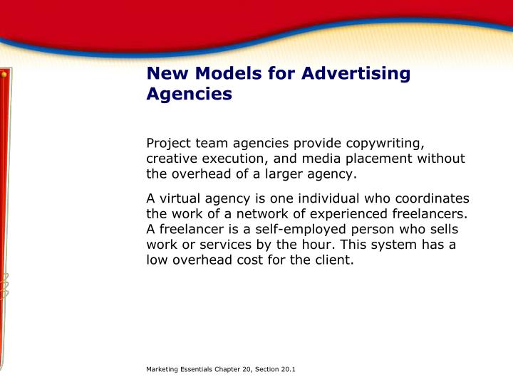 New Models for Advertising Agencies