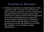 creation as romance1
