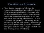creation as romance2