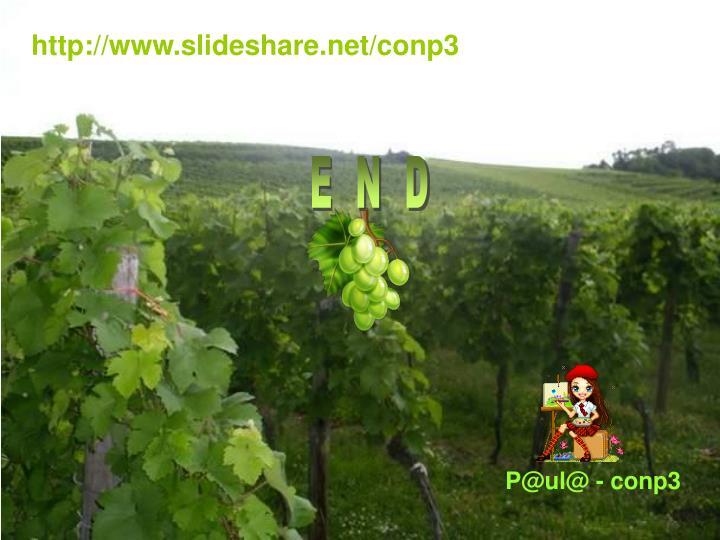 http://www.slideshare.net/conp3