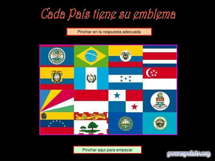 Cada País tiene su emblema