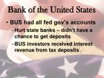 bank of the united states1