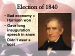 election of 18402