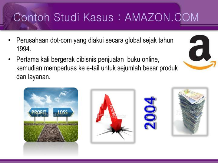 Contoh Studi Kasus : AMAZON.COM