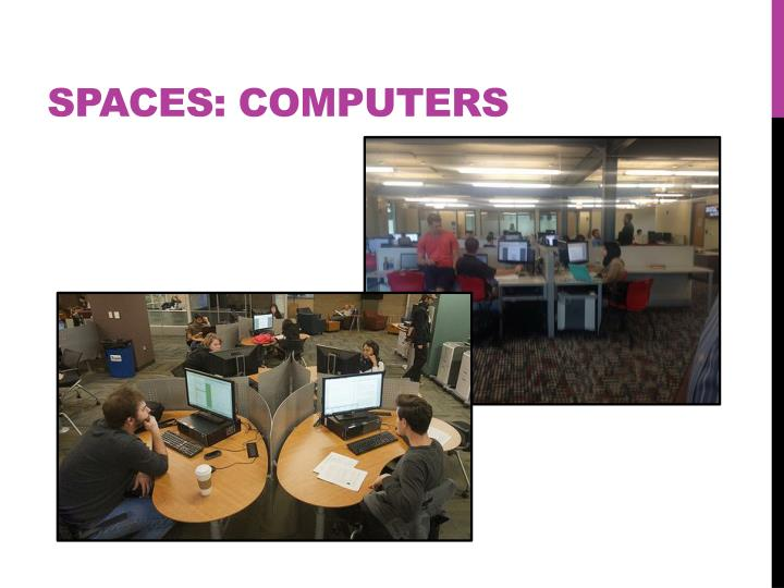 Spaces: Computers