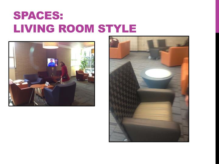 Spaces:
