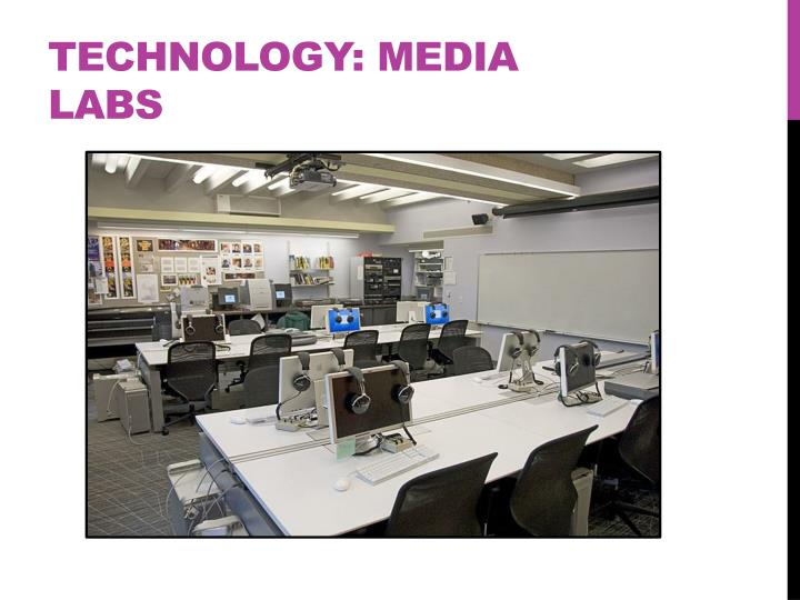 Technology: Media Labs
