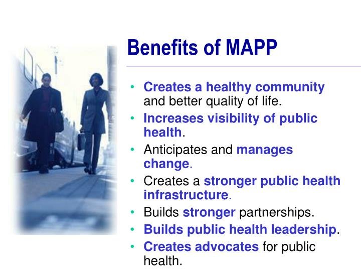 Benefits of MAPP