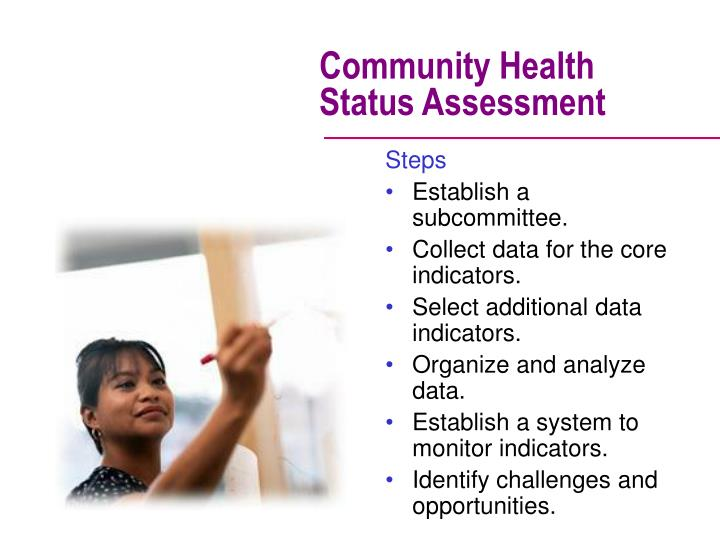 Community Health Status Assessment