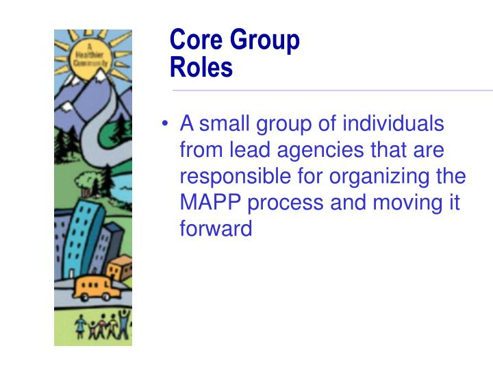 Core Group Roles