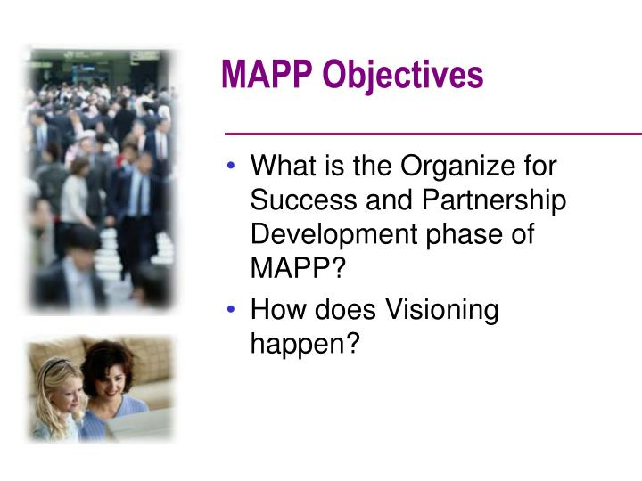 MAPP Objectives