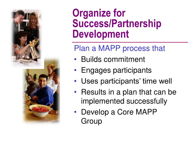 Organize for Success/Partnership Development