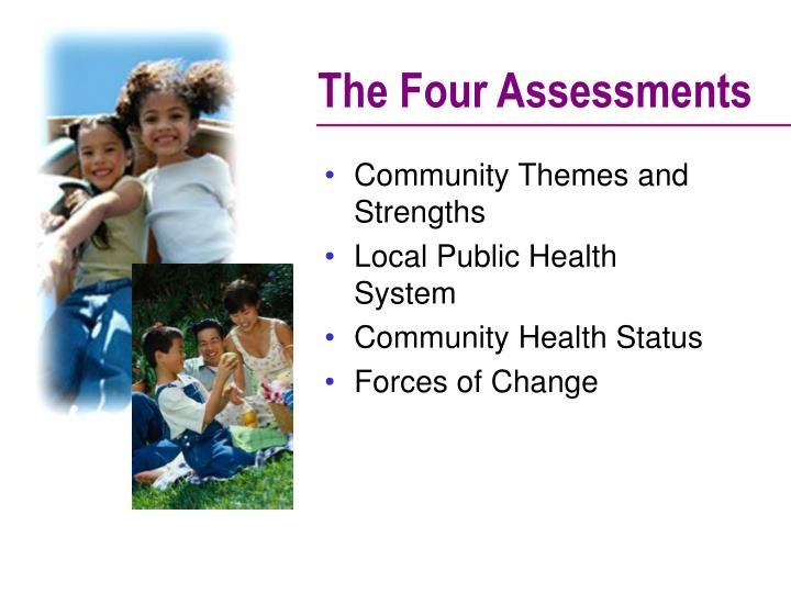 The Four Assessments