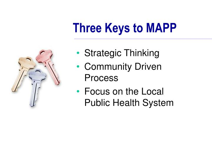 Three Keys to MAPP